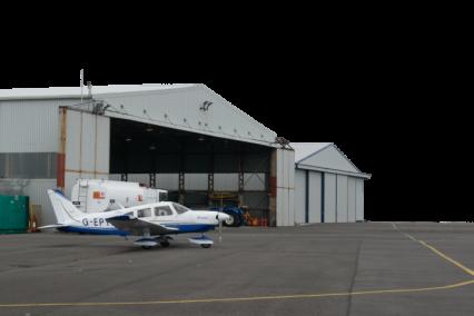 Airport Hangar HD 6K
