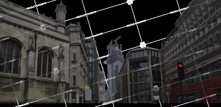 City Street Backdrop HD 6K