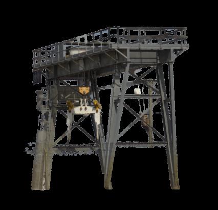 Industrial Crane Lift HD 2K