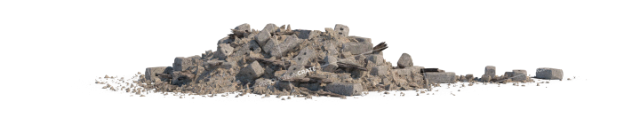 Debris Rubble Pile HD 3K