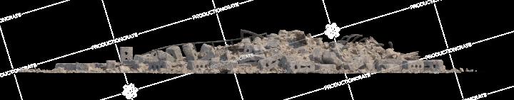 Debris Rubble Pile HD 3K