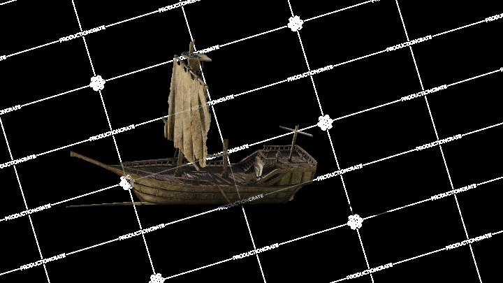 Shipwreck On Beach 26