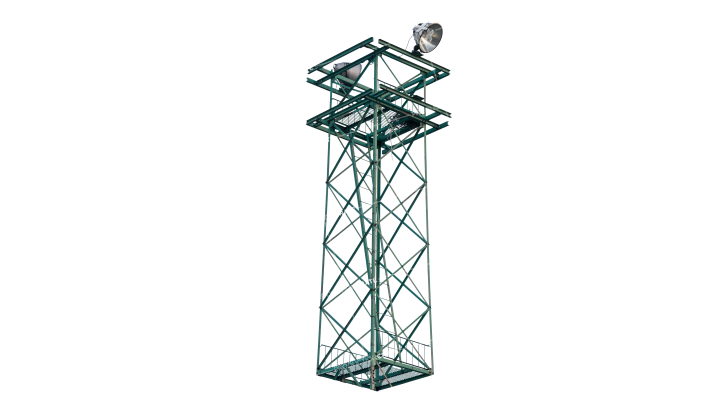 GraphicsCrate Security Watch Tower HD 7K