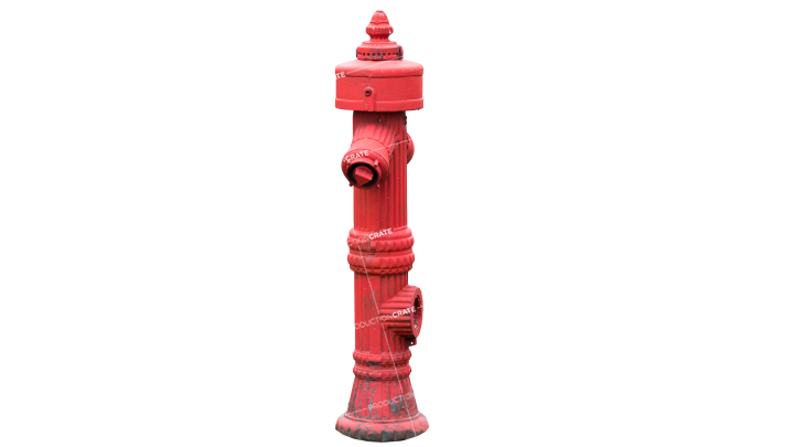 GraphicsCrate Object Fire Hydrant HD 7K