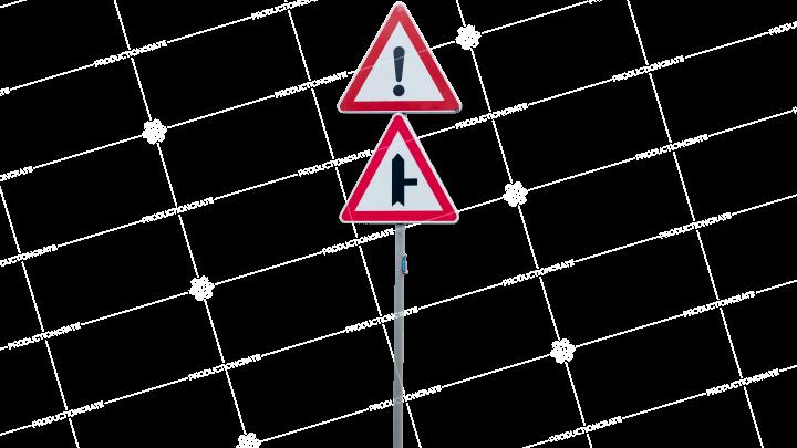 Signs Sharp Road HD 7K