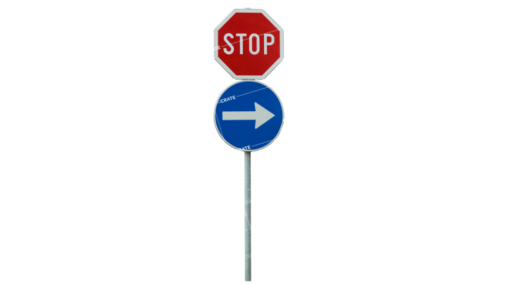 Signs Stop And Turn HD 7K