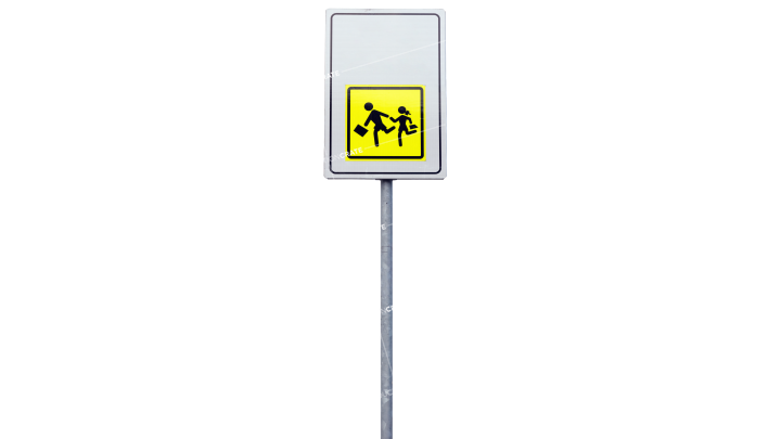 Signs Watch Out For Crossers HD 7K
