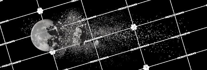 Moon Explosion Debris 1