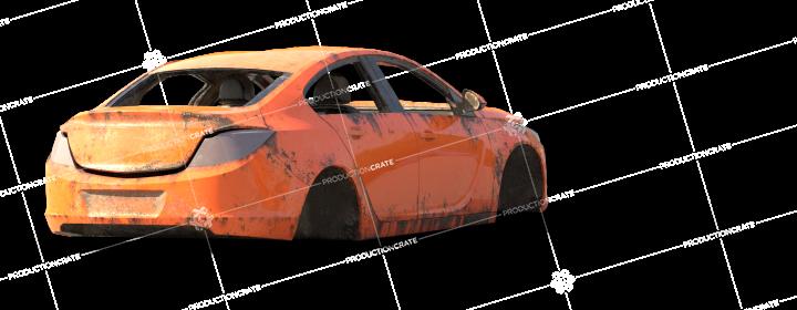 Damaged Car 0