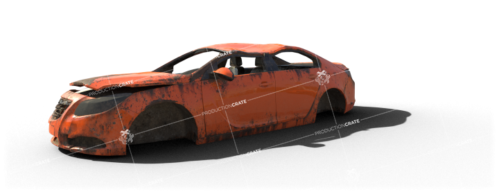 Damaged Car 11