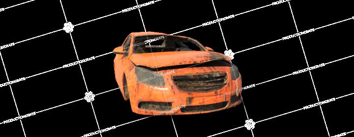 Damaged Car 12