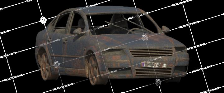 Damaged Car 15