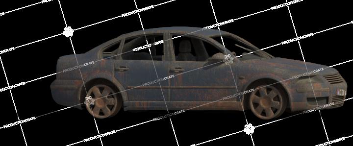 Damaged Car 16