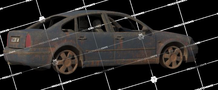 Damaged Car 2