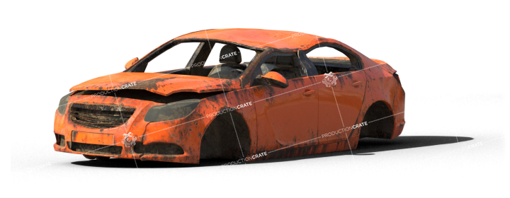 Damaged Car 5