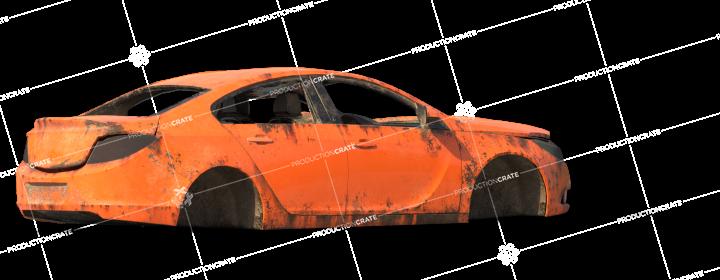Damaged Car 8