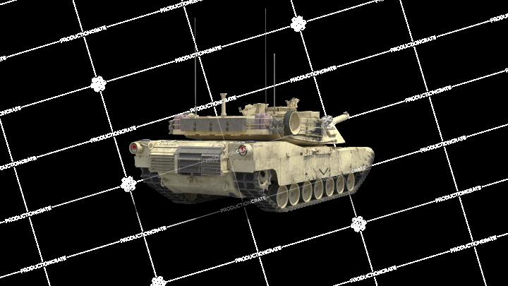 Stationary Tank Facing Away 3
