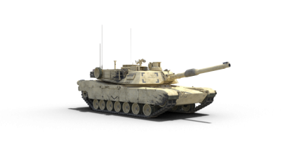 Stationary Tank Facing Towards HD 3K
