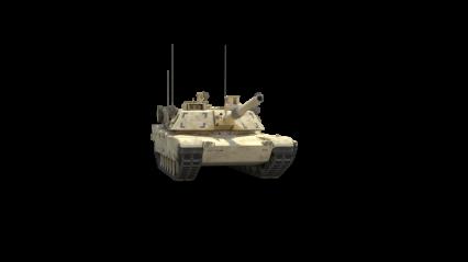 Stationary Tank Facing Towards Cam HD 3K