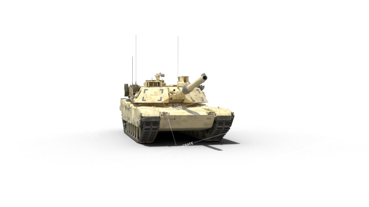 Stationary Tank Facing Towards Cam 3
