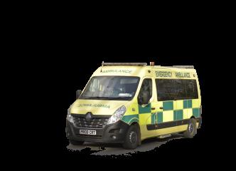 British Ambulance HD 4K