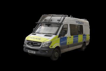 British Police Car HD 6K