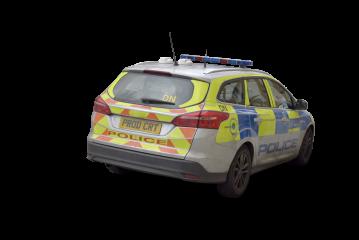 British Police Car HD 3K