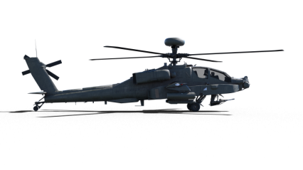Helicopter On Ground HD 6K