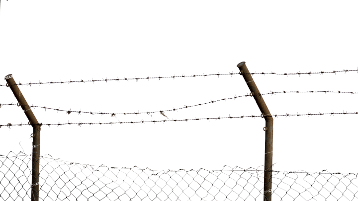 Barbed Wire Fence 13
