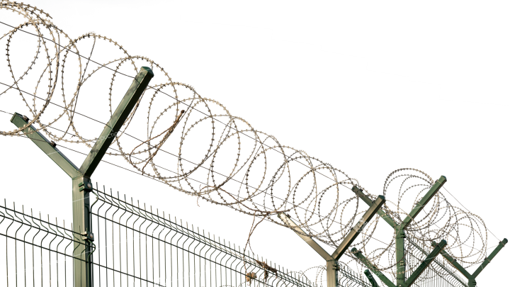 Barbed Wire Fence 3