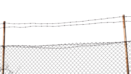 Barbed Wire Fence HD 7K
