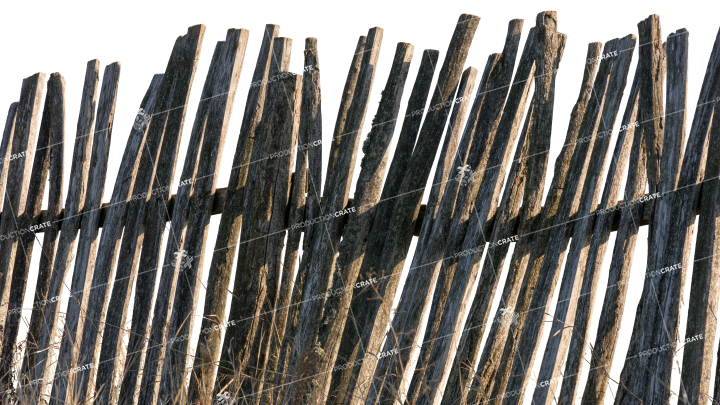 Wooden Fence 3