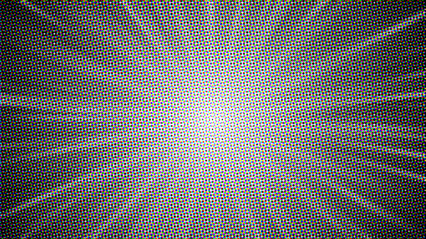 Comic Halftone Background Large HD 3K