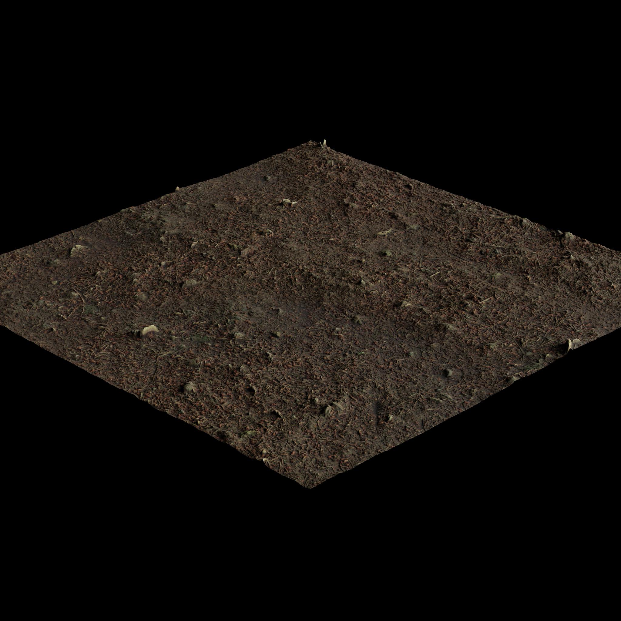 3D Material: Dirt Material 1 HD Render 2
