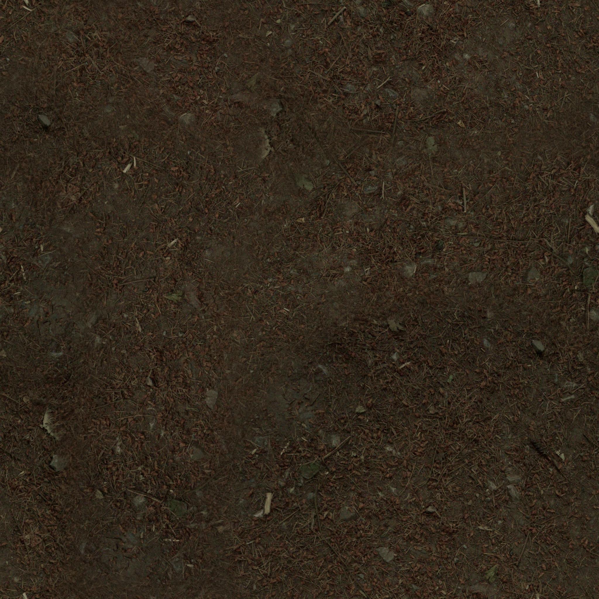 3D Material: Dirt Material 1 HD Render 1