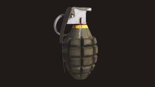 3D Model: Mk2 Grenade