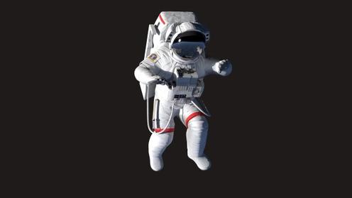 3D Model: Modern Astronaut