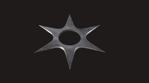3D Model: Ninja Star3