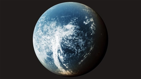 3D Model: Planet Clouds 2