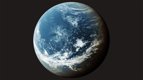 3D Model: Planet Clouds 3