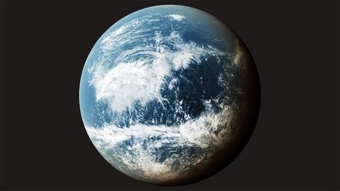 3D Model: Planet Clouds 4