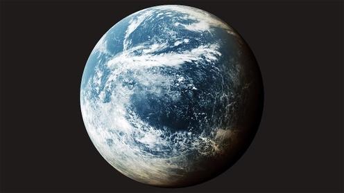3D Model: Planet Clouds 5