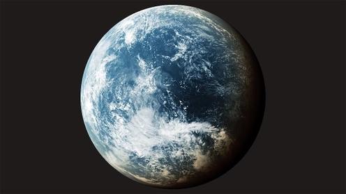 3D Model: Planet Clouds 6