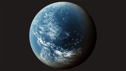 3D Model: Planet Clouds 7