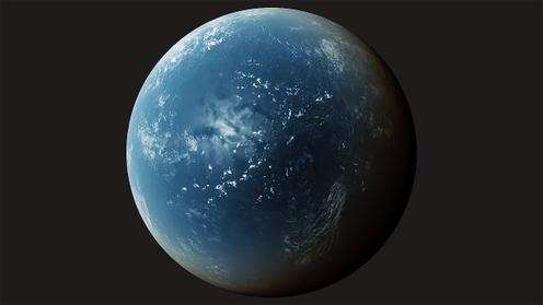 3D Model: Planet Clouds 8