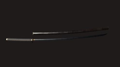 3D Model: Samurai Katana