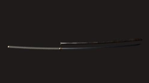 3D Model: Samurai Nodachi