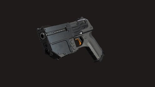 3D Model: Scifi Pistol
