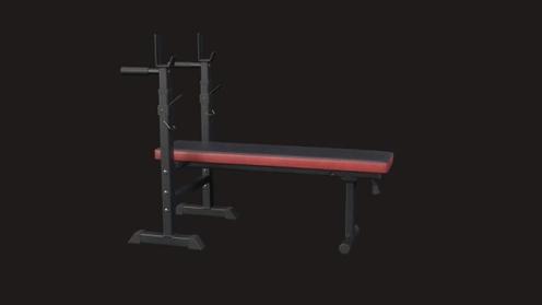 3D Model: Weight Bench