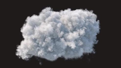 3D Model: Cloud 1